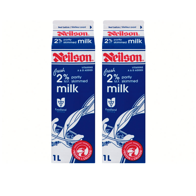 Neilson 2% Milk (1L) (2 in each pack)