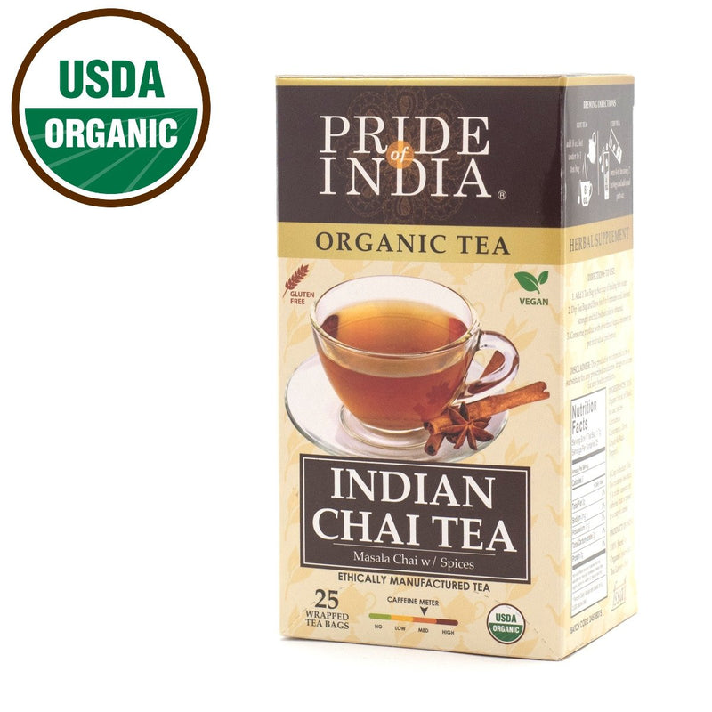 Organic Indian Masala Spice Chai Tea Bags