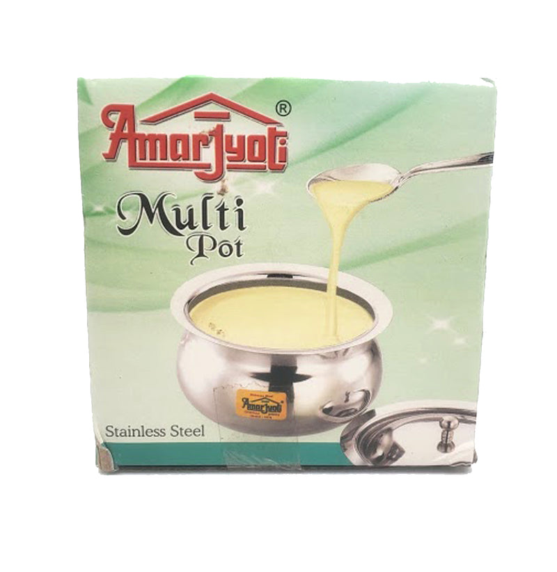 Amarjyoti Stainless Steel Ghee Pot