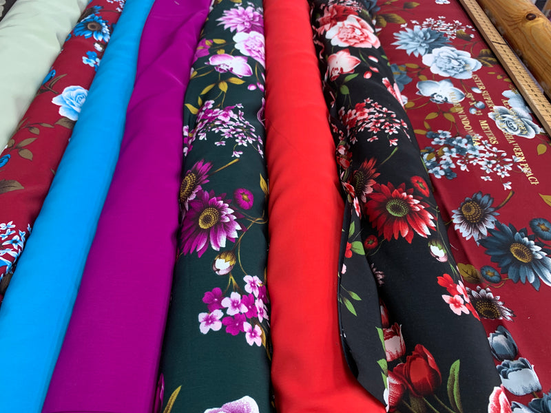 American grace polyester suits