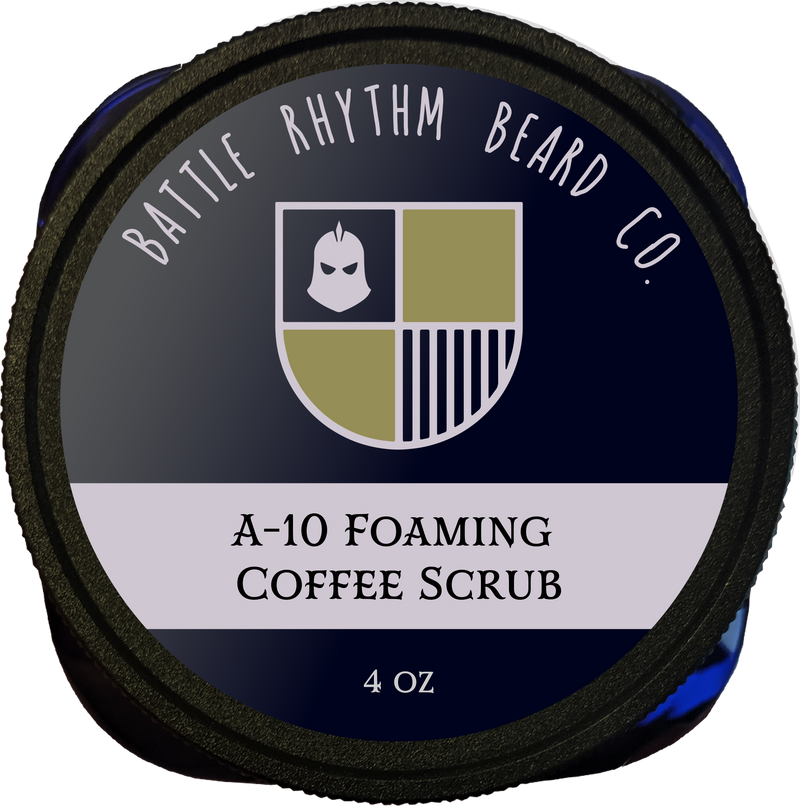 A-10 Foaming Coffee Facial Scrub