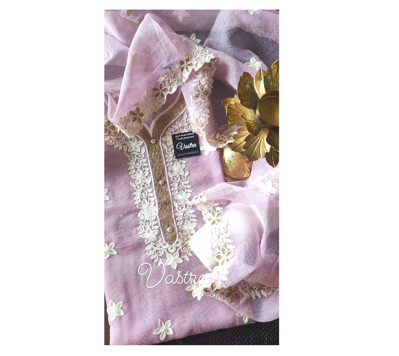Beautifully designed Kota Embroidered Suit & Classy Dupatta