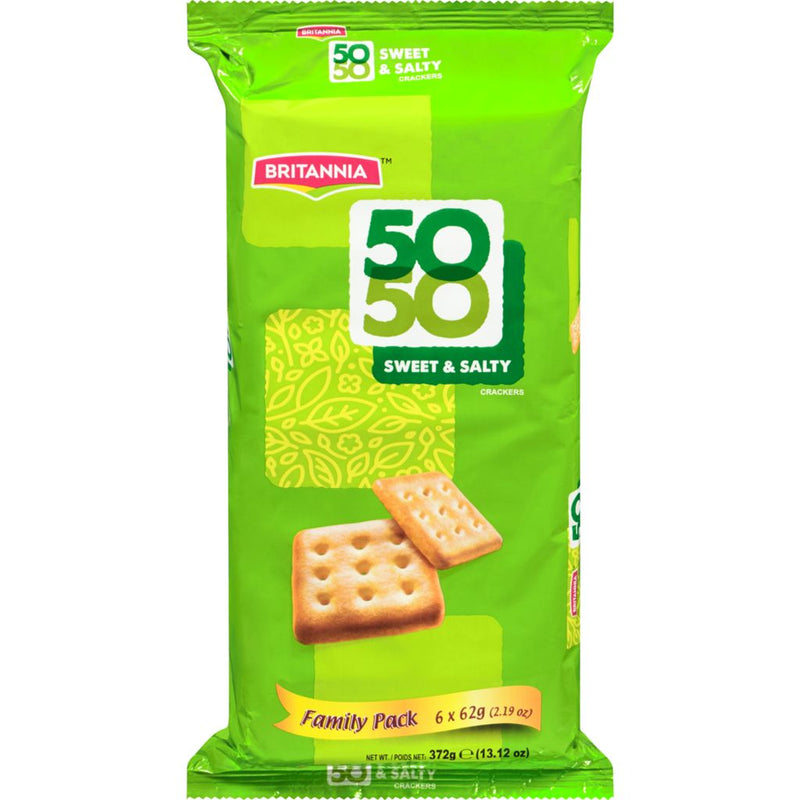 Britannia Fifty Fifty, Cookies