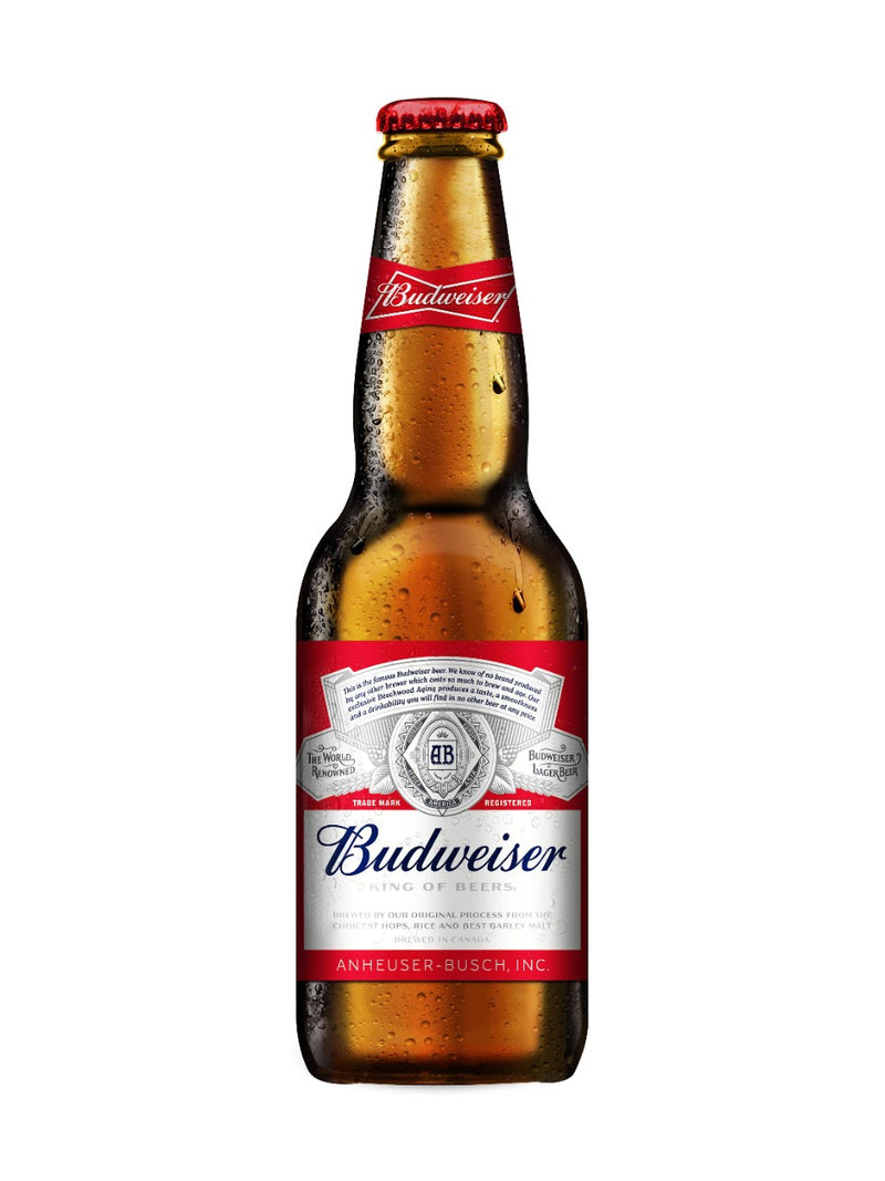 Budweiser (341 mL bottle)