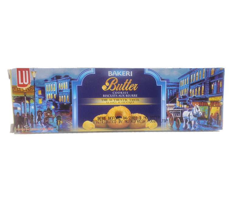 LU Bakeri Butter Cookies 84g, Indian Grocery store Ottawa, Buy Online