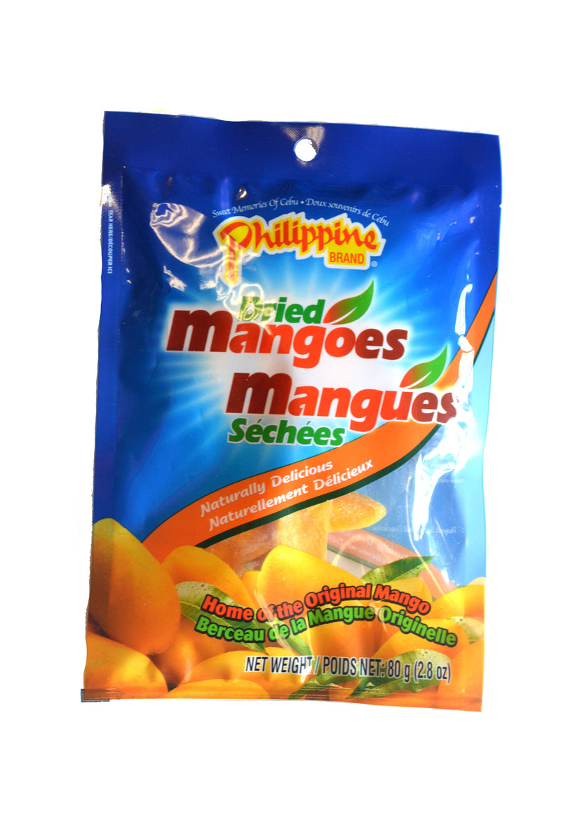 Dried Mangoes 80g