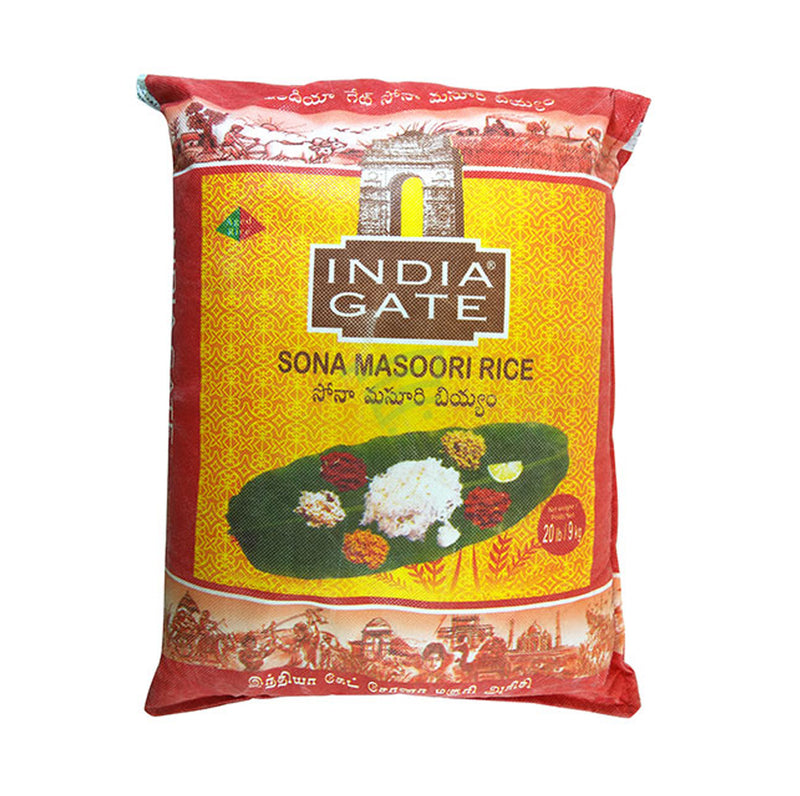 India Gate Sona Masoori rice 20lb