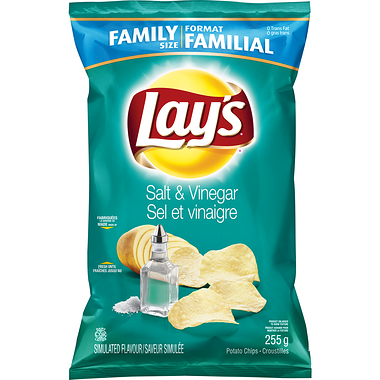 LAY'S® Salt & Vinegar Potato Chips