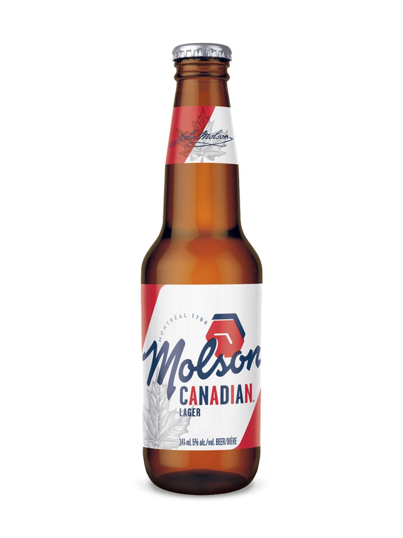 Molson Canadian (341 mL bottle)