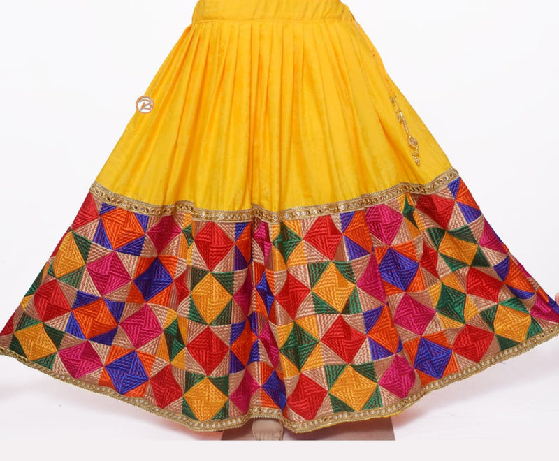 Handmade Traditional Lehenga's, Embroidery skirt