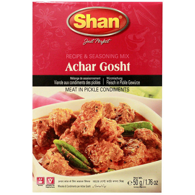 Shan Achar Gosht Recipe and Seasoning Mix