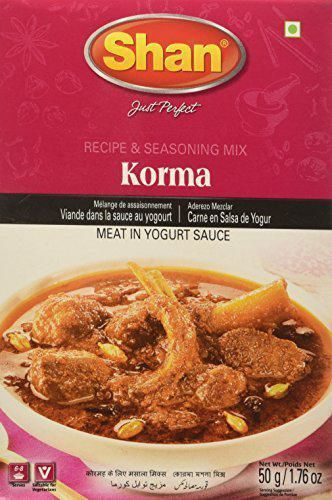 Shan Korma Recipe and Seasoning Mix