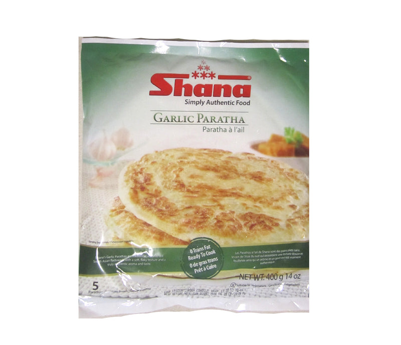 Shan Garlic Paratha 400g (5pc)