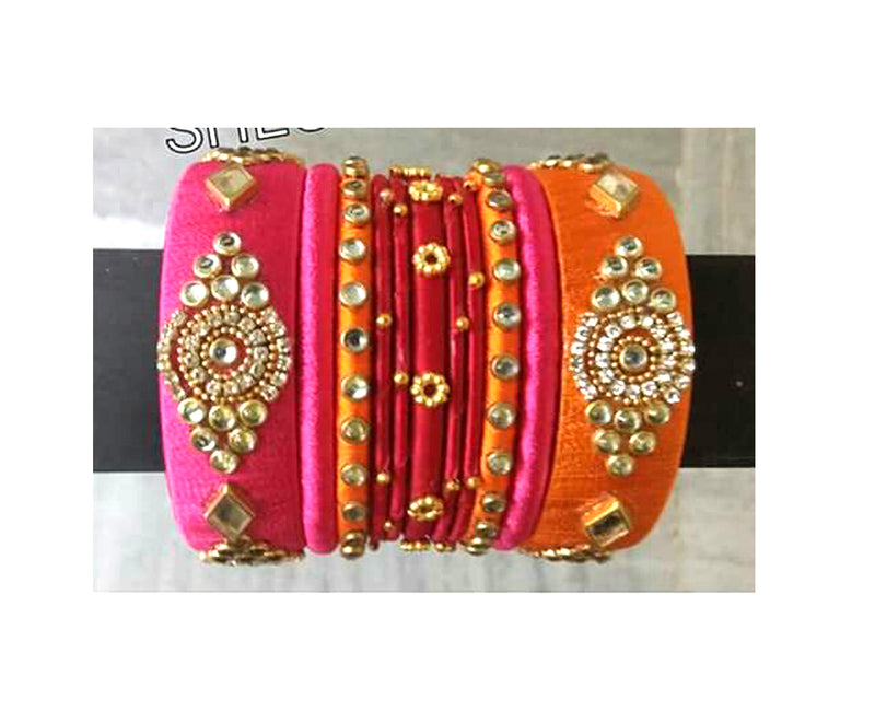 Traditional Handmade Multi Color Indian Bangles