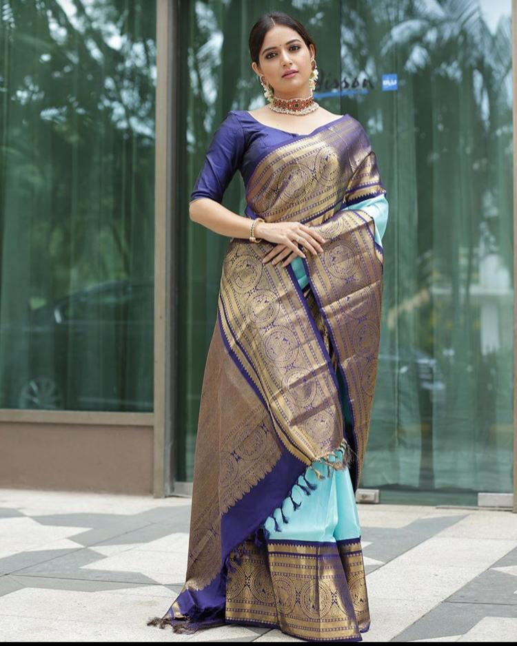 Handwoven Pure Banarasi Saree