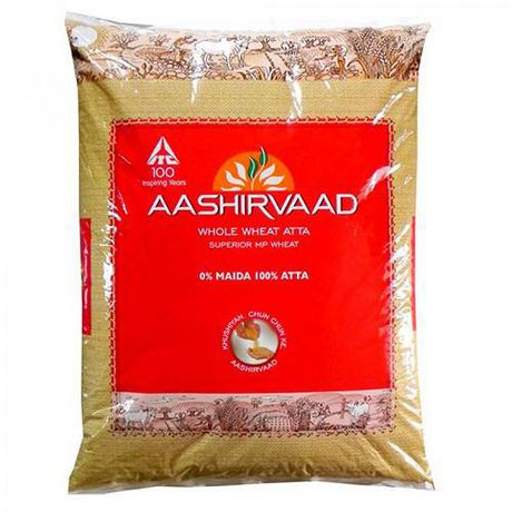 Aashirvaad Whole Wheat Flour 20lb