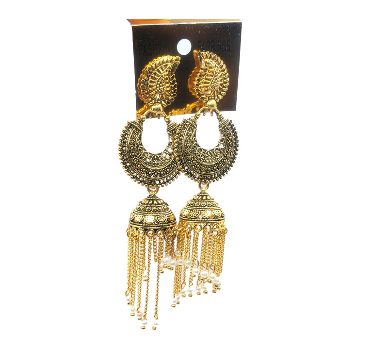 Traditional & Classy Party wear Wired Dangler