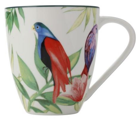 Tazza mug Tropical Nights white Christopher Vine