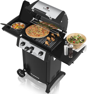 Barbecue a GAS BROIL KING GEM340 con fornello laterale