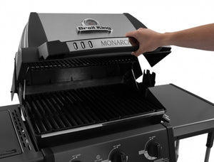 Barbecue a GAS BROIL KING MONARCH 390 con fornello laterale e girarrosto