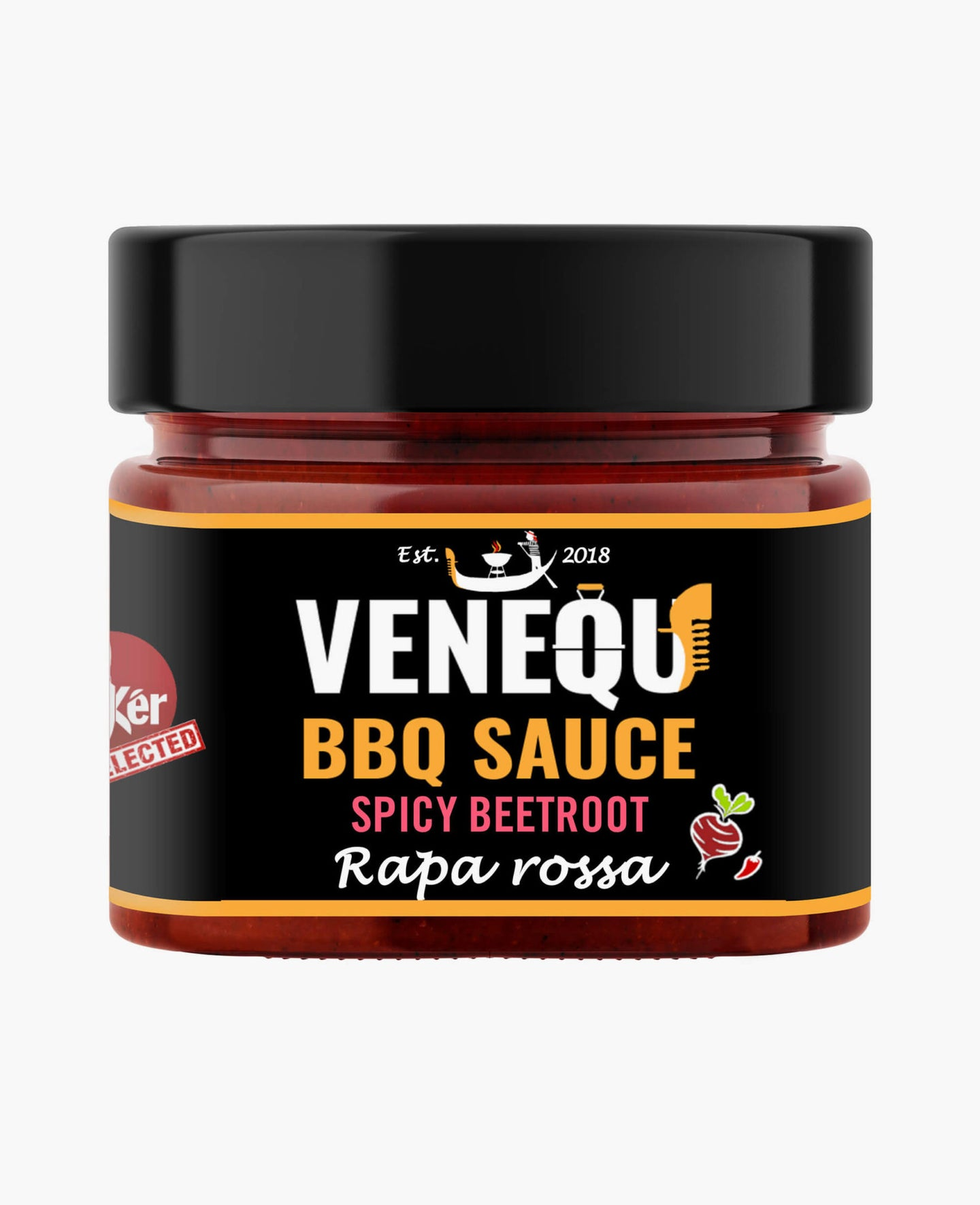 Salsa barbecue SPICY BEETROOT  - 200gr VENEQU