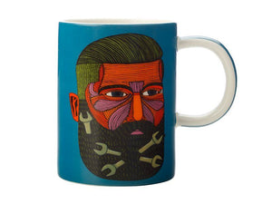 Tazza MULGA THE ARTIST MUG 450ml - SPANNER MAN