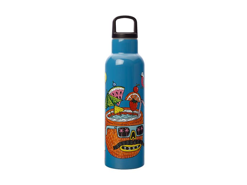 Bottiglia termica  MULGA THE ARTIST 600ml - COCONUT
