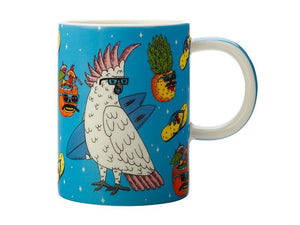Tazza MULGA THE ARTIST MUG 450ml - COCKATOO