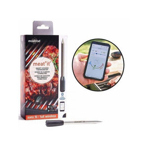 Termometro wireless MASTRAD MEAT°IT con app Android e Ios