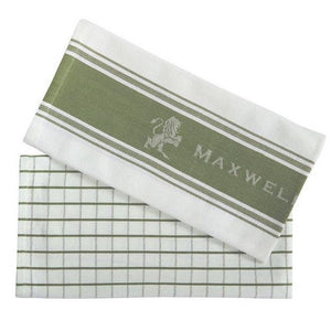 Set 2 canovacci 50x70 Maxwell Williams - Verde