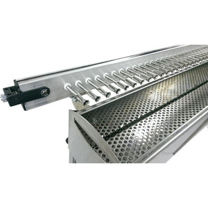 Barbecue a carbone fornacella cuoci arrosticini automatico in acciaio inox TECNOROAST 20 SINGLE