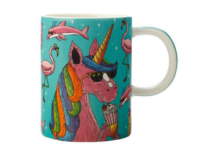 Tazza MULGA THE ARTIST MUG 450ml - UNICORN