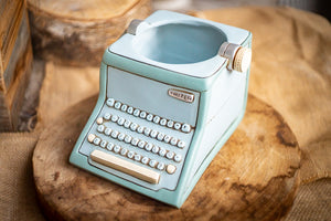 1Designer pot-Typewriter