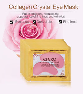 Collagen Crystal Eye Mask Face Mask Gel Eye Patches Eye Mask Eye Patches Remove Dark Circles Tips Sticker Make Up Tools Mask