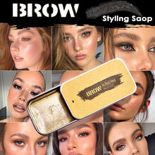 Load image into Gallery viewer, 3D Feathery Brows Makeup Gel Soap Brows Kit Waterproof Eyebrow Tint Pomade Long Lasting Eyebrow Setting Gel Cosmetics