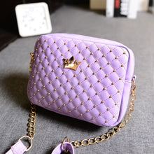 Load image into Gallery viewer, Miyahouse Mini Travel Women Messenger Bag Fashion Shouler Bag With Crown Hot Sale Small Rivet Design Shoulder Daily Bag