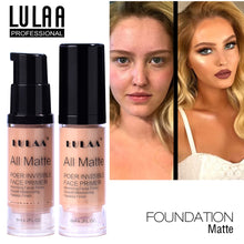 Load image into Gallery viewer, LULAA Full Cover Liquid Foundation Liquid Face Base Makeup Cream Concealer Oil Control Moisturizing Brightening TSLM1