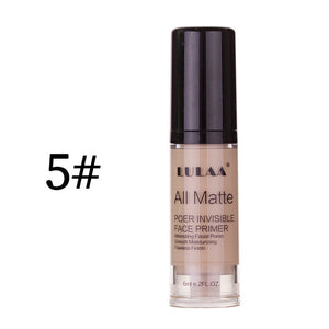 LULAA Full Cover Liquid Foundation Liquid Face Base Makeup Cream Concealer Oil Control Moisturizing Brightening TSLM1