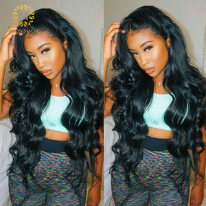 250 Density Lace Wig Body Wave Deep Lace Front Wig 13x6 Lace Front Human Hair Wigs For Black Women Preplucked Lace Wig Brazilian