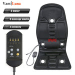 Load image into Gallery viewer, Full-Body Back Neck Waist Infrared Therapy Heated Massage Electric Vibrator Cushion Seat