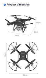 Load image into Gallery viewer, LAUMOX X35 SAE Drone GPS 5G WiFi 4K HD Camera Profissional RC Quadcopter