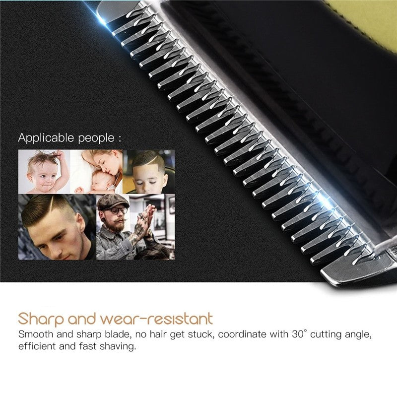 Professional Hair Trimmer - Rechargeable