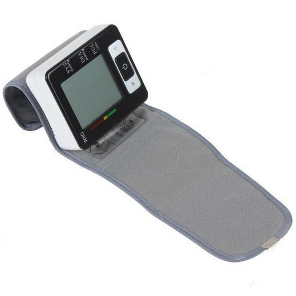 Digital Electric Blood Pressure Monitor LCD Screen Automatic Sphygmomanometer