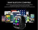Load image into Gallery viewer, Bluetooth Smart Watch Men Q18 with Camera Facebook Whatsapp Twitter Sync SMS
