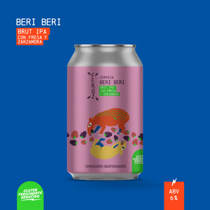 Beri Beri - Gluten Reduced