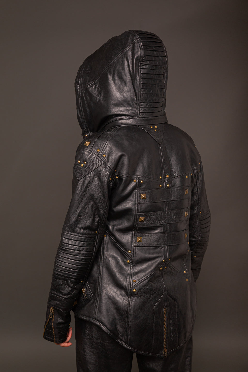 Cyberhacker Jacket (Brass)