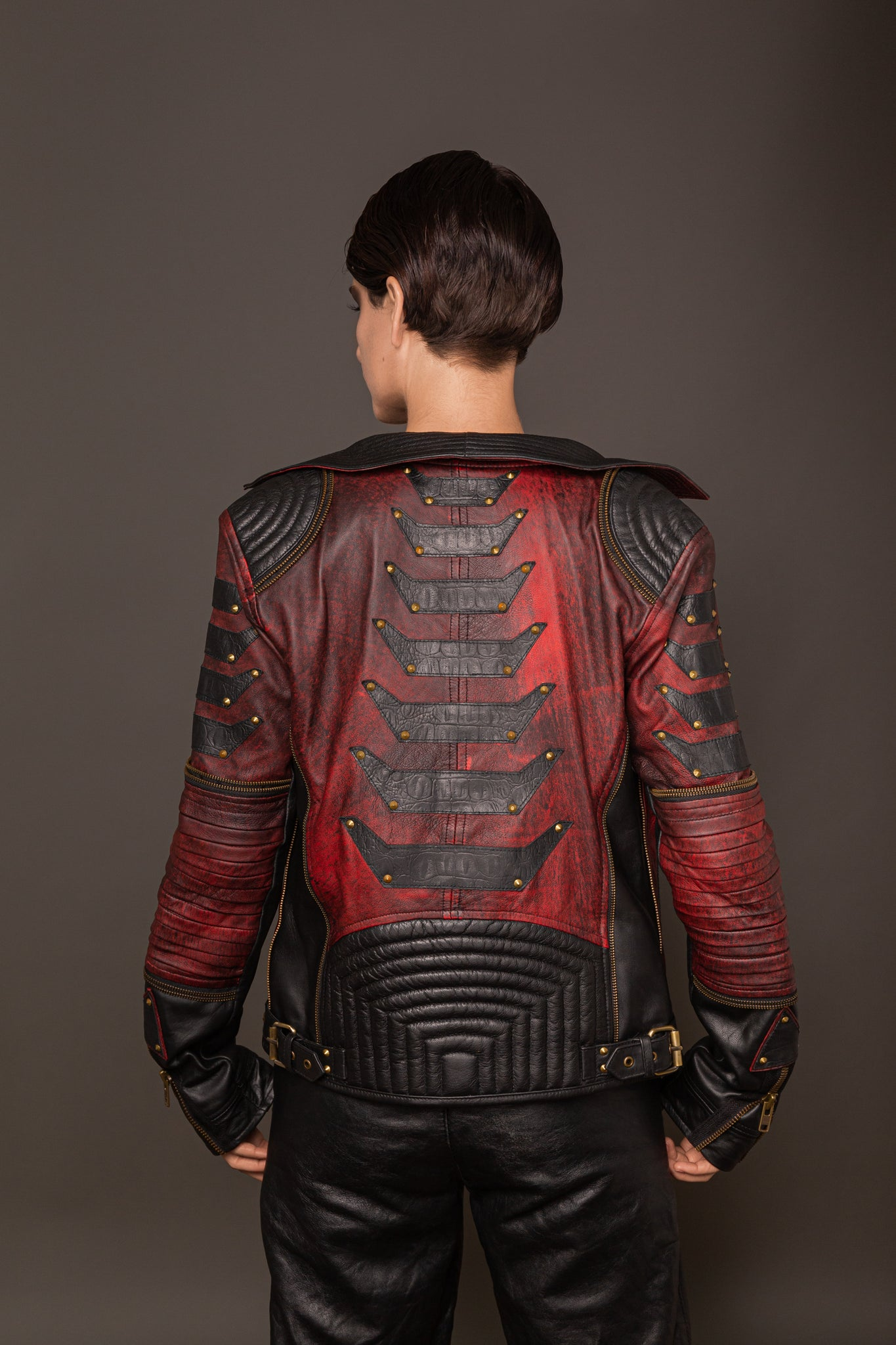 Exo/Derm/XX Blood Ruby Jacket (Brass)