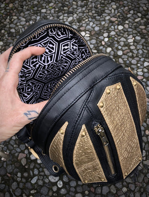 GOLD Micro Carapace Bag