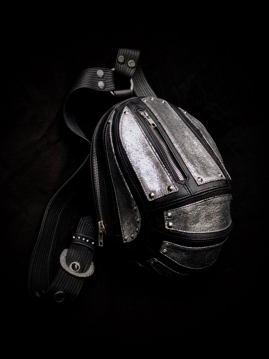 STEEL Micro Carapace Bag