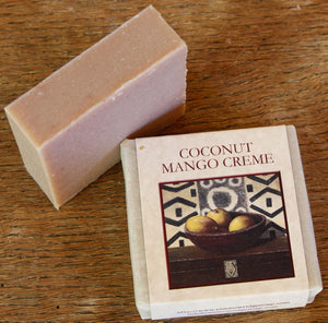 Coconut Mango Creme Goat Milk Soap